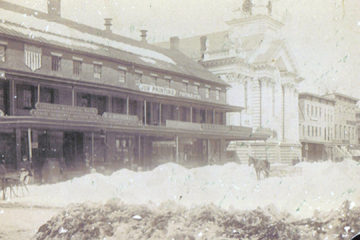 School house Blizzard