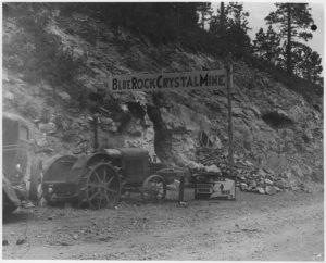 Blue Rock Crystal Mine