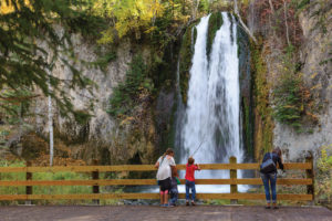 Spearfish Canyon Waterfall